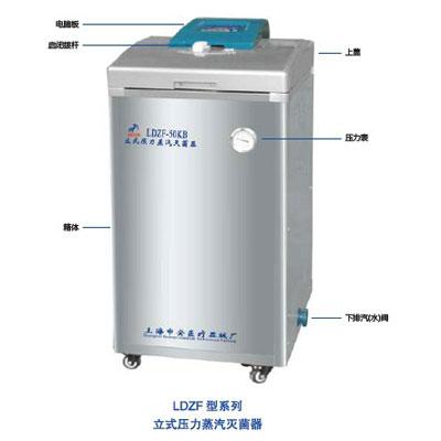 LDZF-50KB-II 50立升立式压力蒸汽灭菌器(第二代)