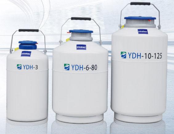 YDH-6-80铝合金生物运输液氮生物容器