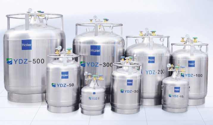 YDZ-15 低温储存型不锈钢液氮生物容器
