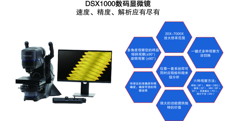 DSX1000数码显微镜